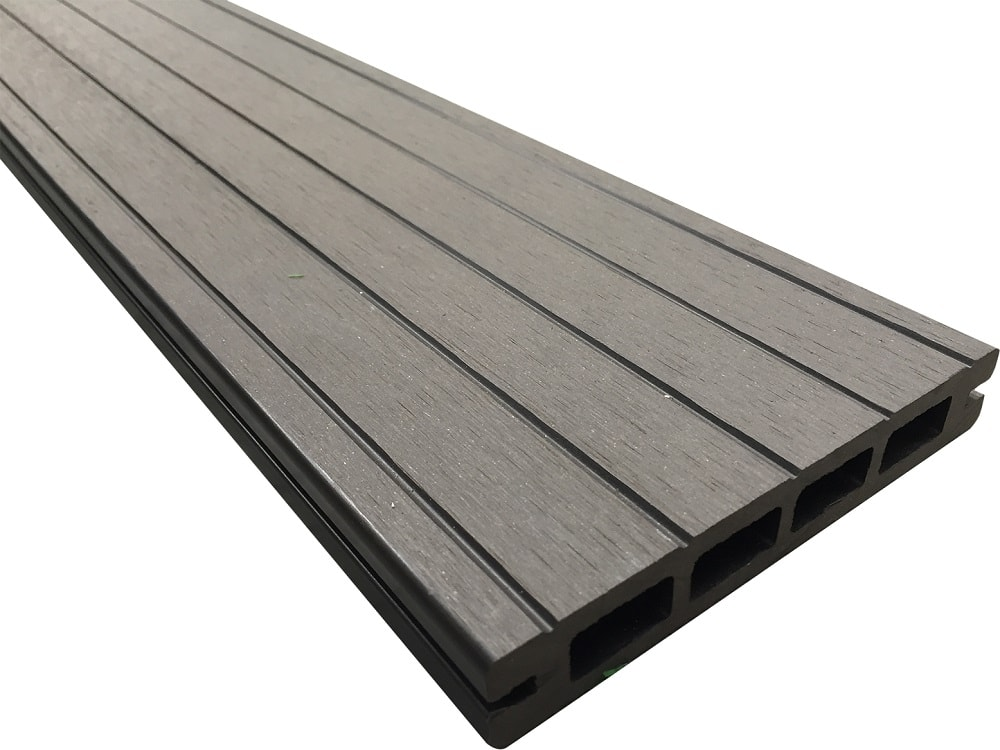 50 square metres of black composite decking inc boards for Best composite decking brand 2016