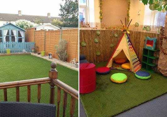 Artificial Grass Mat & Fake Grass for decking